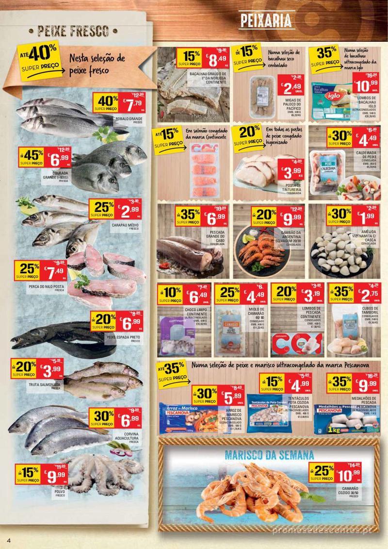 Folheto Continente Tudo aos preços mais baixos - Continente Bom dia - 8 de Janeiro a 14 de Janeiro - página 4