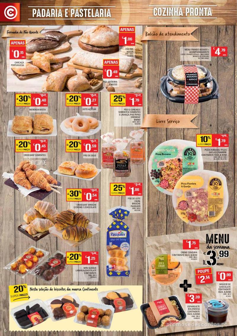 Folheto Continente Tudo aos preços mais baixos - Continente Bom dia - 8 de Janeiro a 14 de Janeiro - página 6