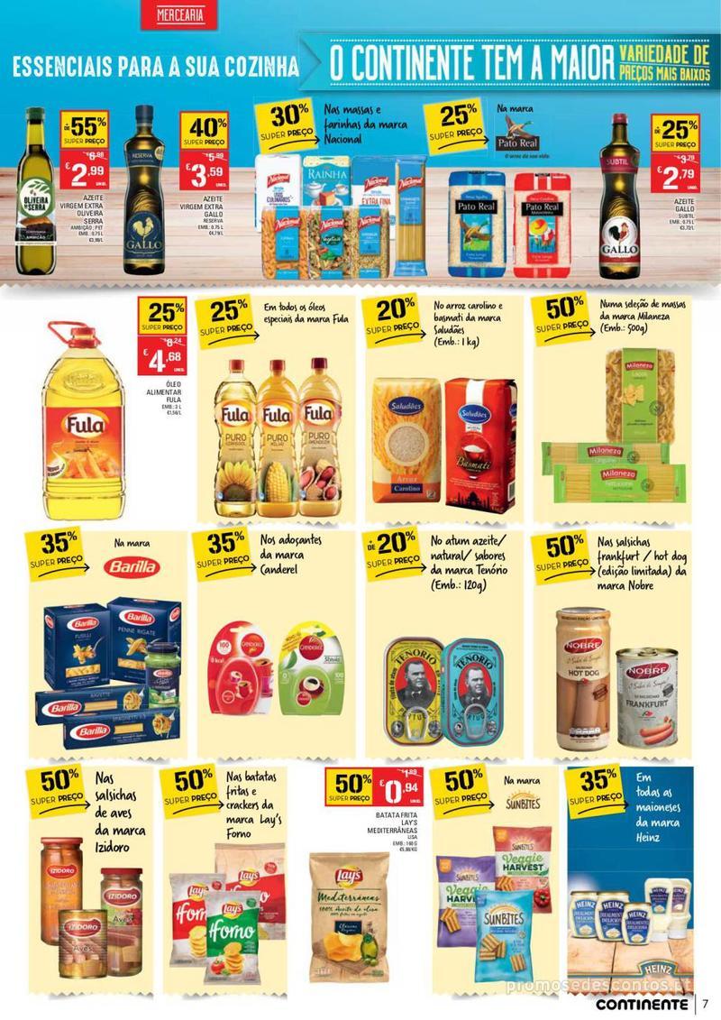 Folheto Continente Tudo aos preços mais baixos - Continente Bom dia - 8 de Janeiro a 14 de Janeiro - página 7