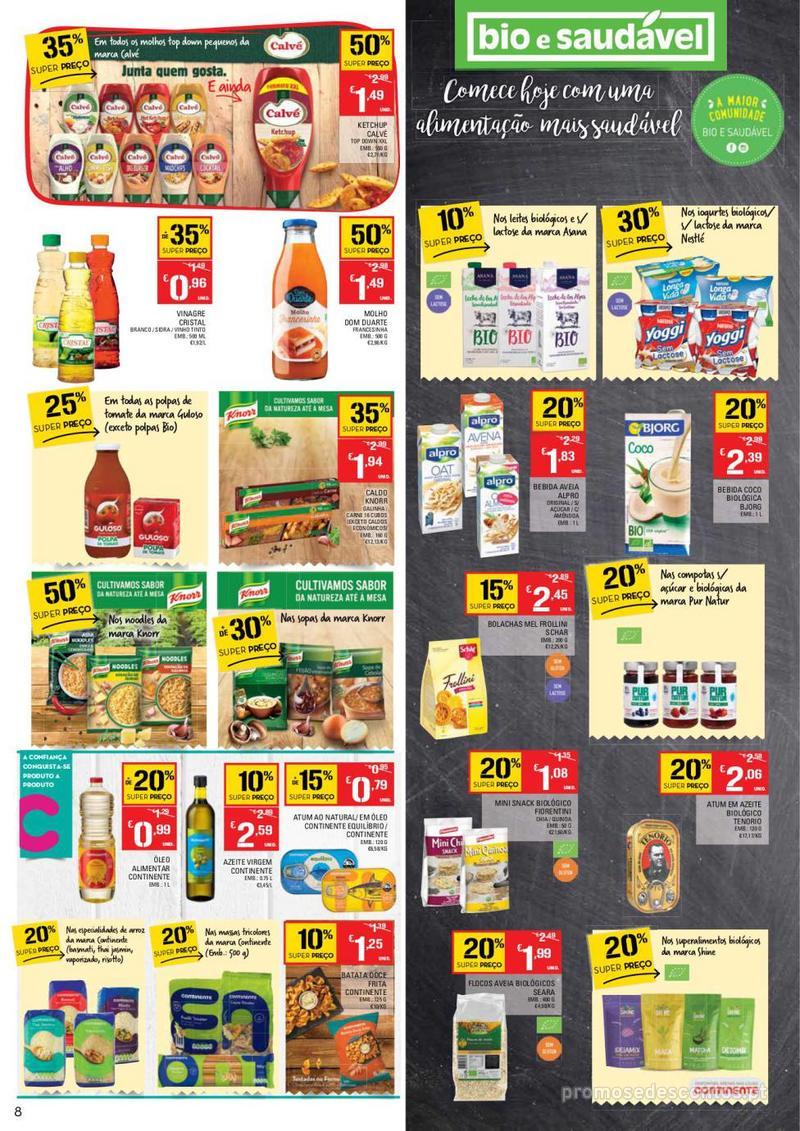 Folheto Continente Tudo aos preços mais baixos - Continente Bom dia - 8 de Janeiro a 14 de Janeiro - página 8