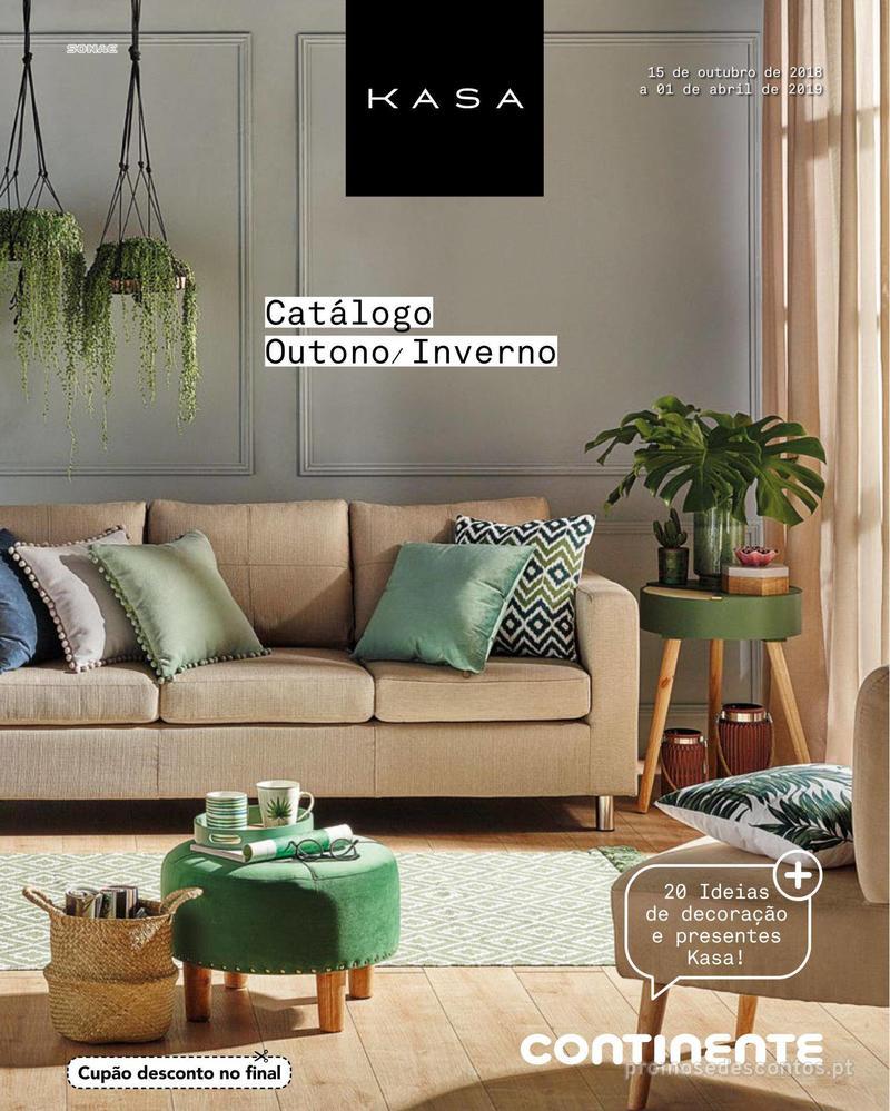 Folheto Continente Catálogo Outono/ Inverno - 15 de Outubro a 1 de Abril - página 1