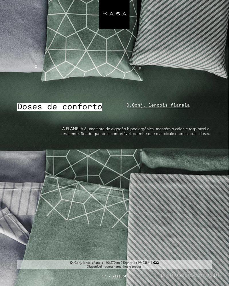 Folheto Continente Catálogo Outono/ Inverno - 15 de Outubro a 1 de Abril - página 17