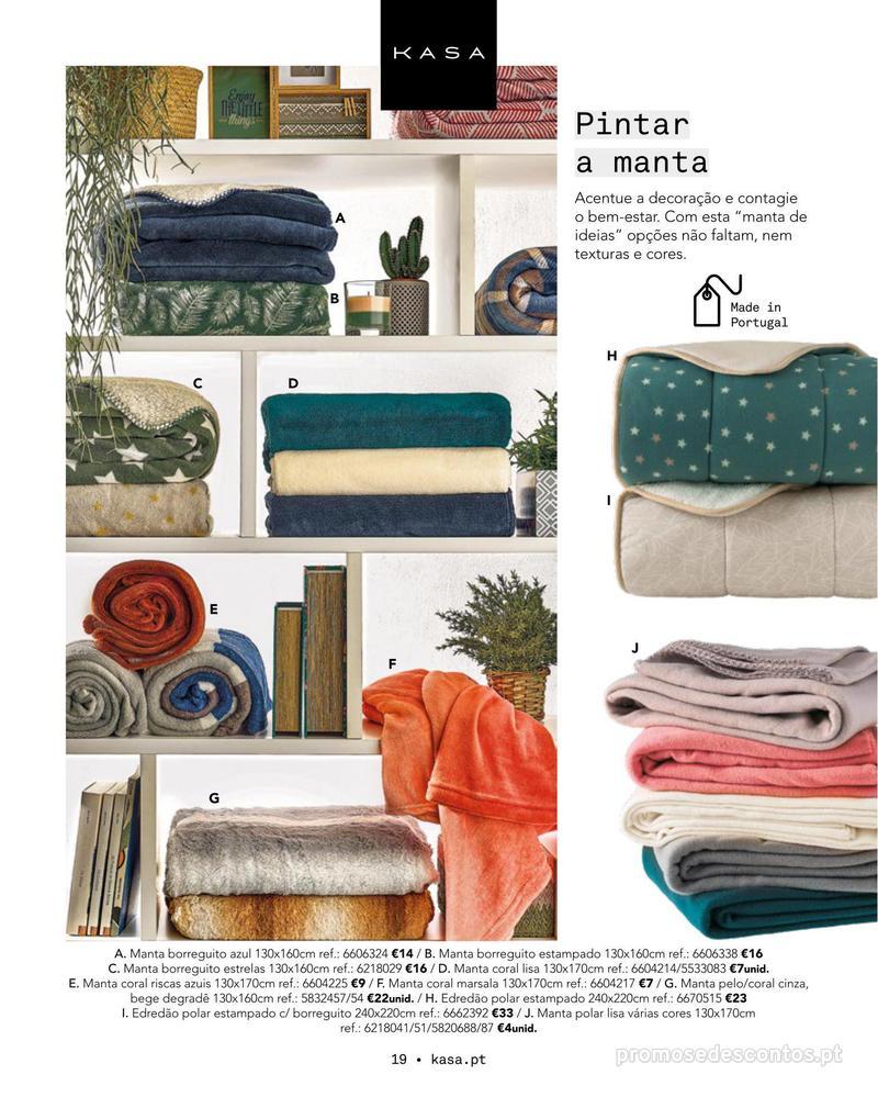 Folheto Continente Catálogo Outono/ Inverno - 15 de Outubro a 1 de Abril - página 19