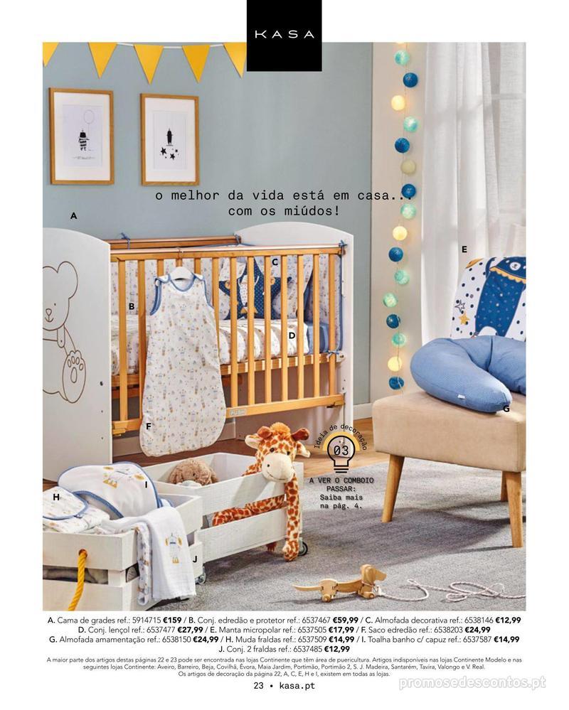 Folheto Continente Catálogo Outono/ Inverno - 15 de Outubro a 1 de Abril - página 23