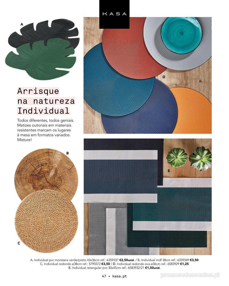 Folheto Continente Catálogo Outono/ Inverno - 15 de Outubro a 1 de Abril - página 47
