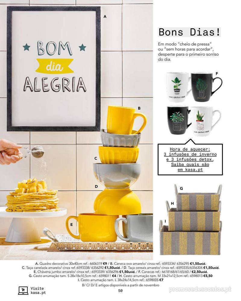 Folheto Continente Catálogo Outono/ Inverno - 15 de Outubro a 1 de Abril - página 50
