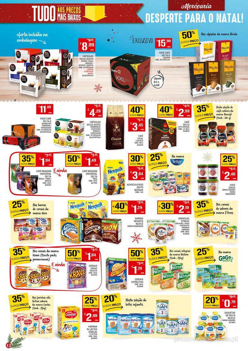 Folheto Continente Tudo aos preços mais baixos - 4 de Dezembro a 10 de Dezembro - página 12