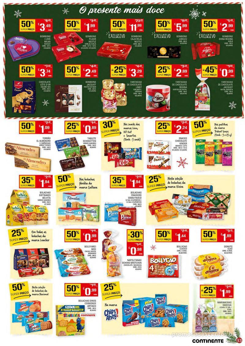 Folheto Continente Tudo aos preços mais baixos - 4 de Dezembro a 10 de Dezembro - página 13