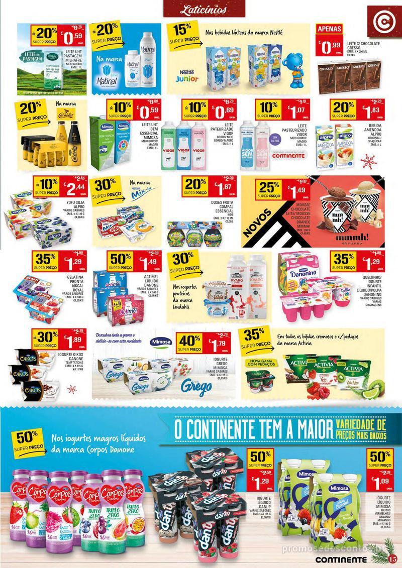 Folheto Continente Tudo aos preços mais baixos - 4 de Dezembro a 10 de Dezembro - página 15
