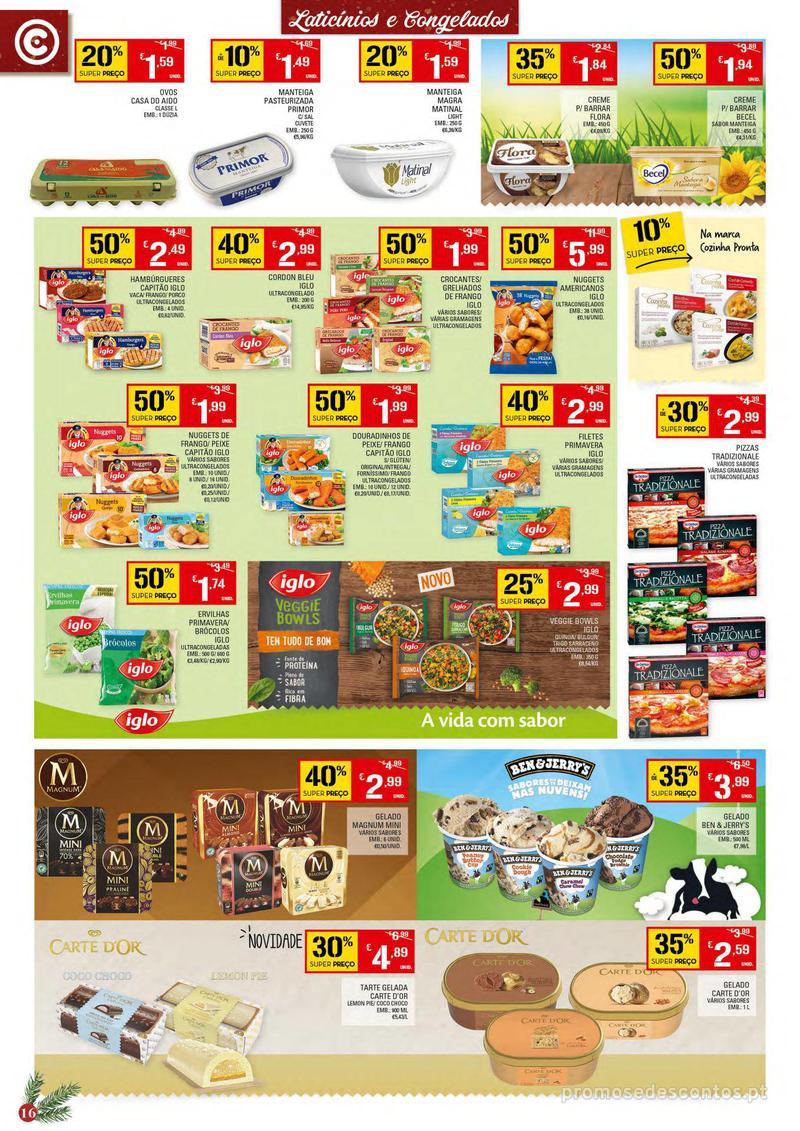Folheto Continente Tudo aos preços mais baixos - 4 de Dezembro a 10 de Dezembro - página 16