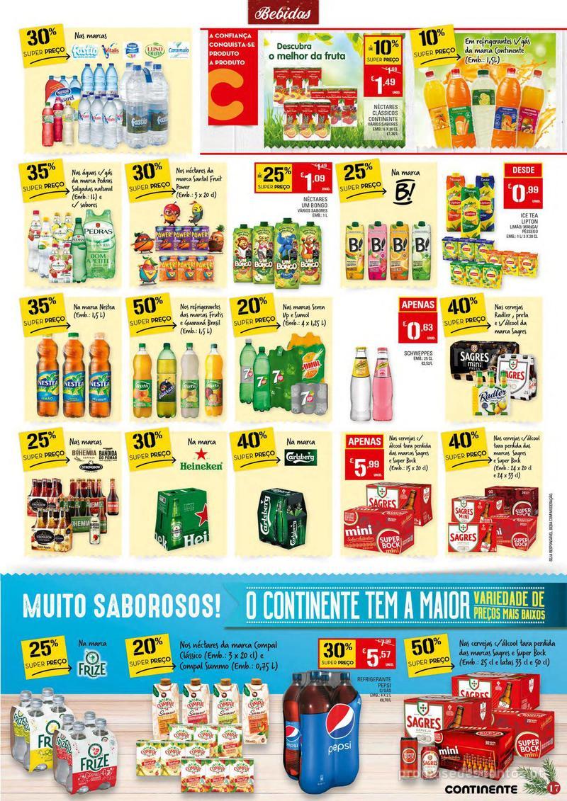 Folheto Continente Tudo aos preços mais baixos - 4 de Dezembro a 10 de Dezembro - página 17