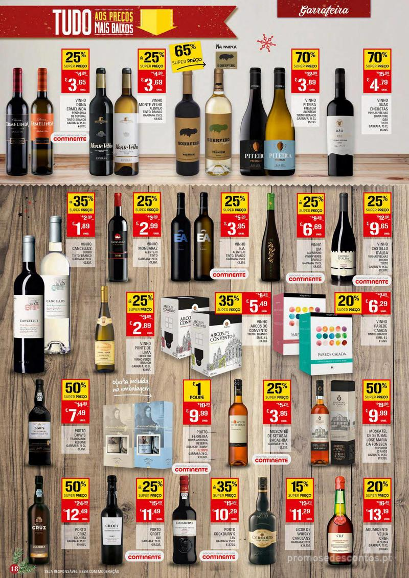 Folheto Continente Tudo aos preços mais baixos - 4 de Dezembro a 10 de Dezembro - página 18