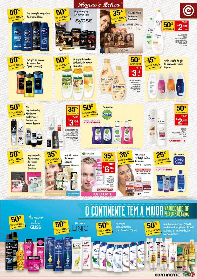 Folheto Continente Tudo aos preços mais baixos - 4 de Dezembro a 10 de Dezembro - página 19
