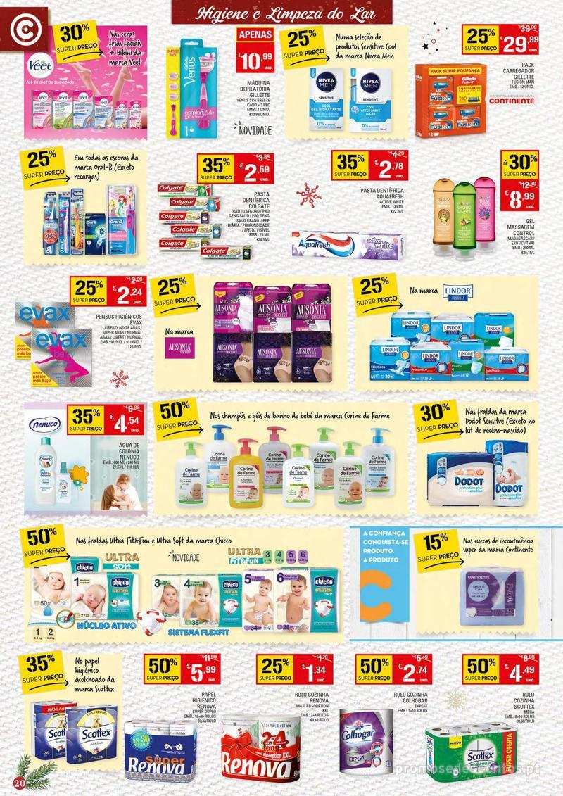 Folheto Continente Tudo aos preços mais baixos - 4 de Dezembro a 10 de Dezembro - página 20