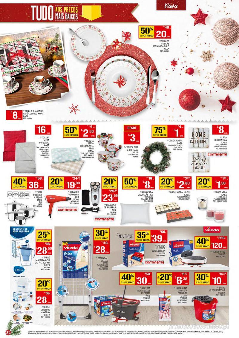 Folheto Continente Tudo aos preços mais baixos - 4 de Dezembro a 10 de Dezembro - página 22
