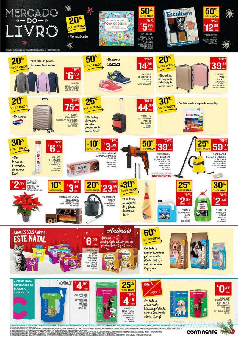 Folheto Continente Tudo aos preços mais baixos - 4 de Dezembro a 10 de Dezembro - página 23