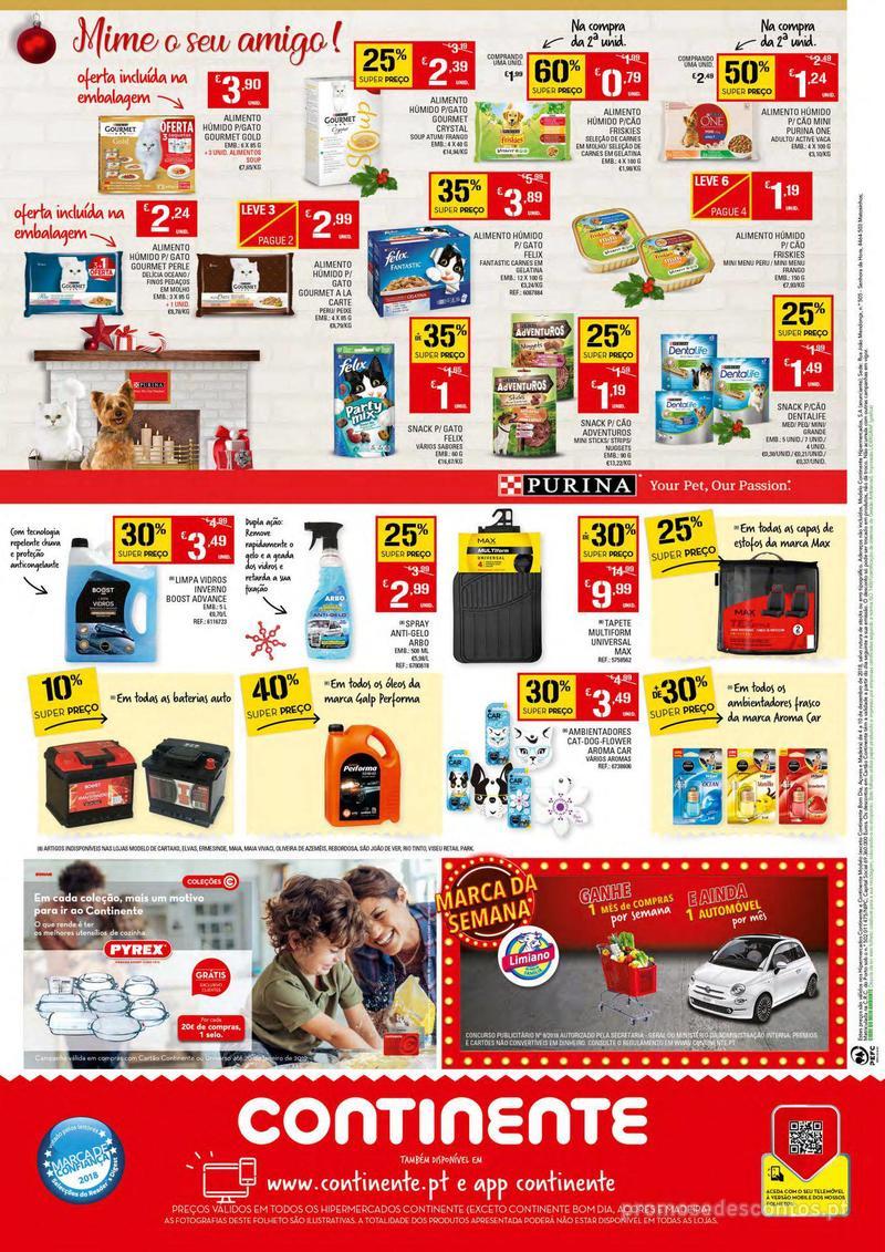 Folheto Continente Tudo aos preços mais baixos - 4 de Dezembro a 10 de Dezembro - página 24