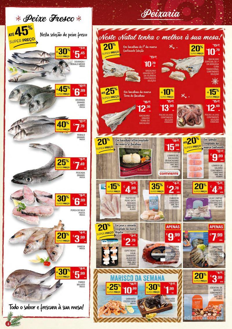 Folheto Continente Tudo aos preços mais baixos - 4 de Dezembro a 10 de Dezembro - página 4
