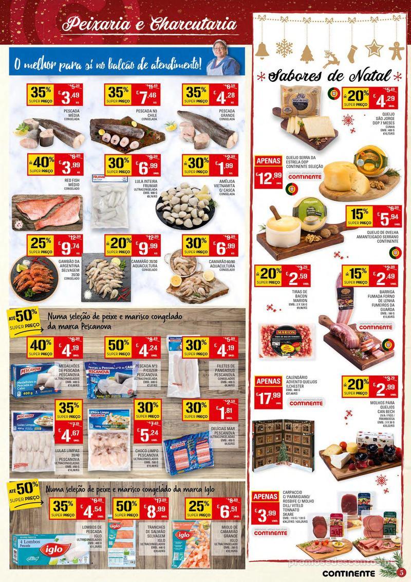 Folheto Continente Tudo aos preços mais baixos - 4 de Dezembro a 10 de Dezembro - página 5