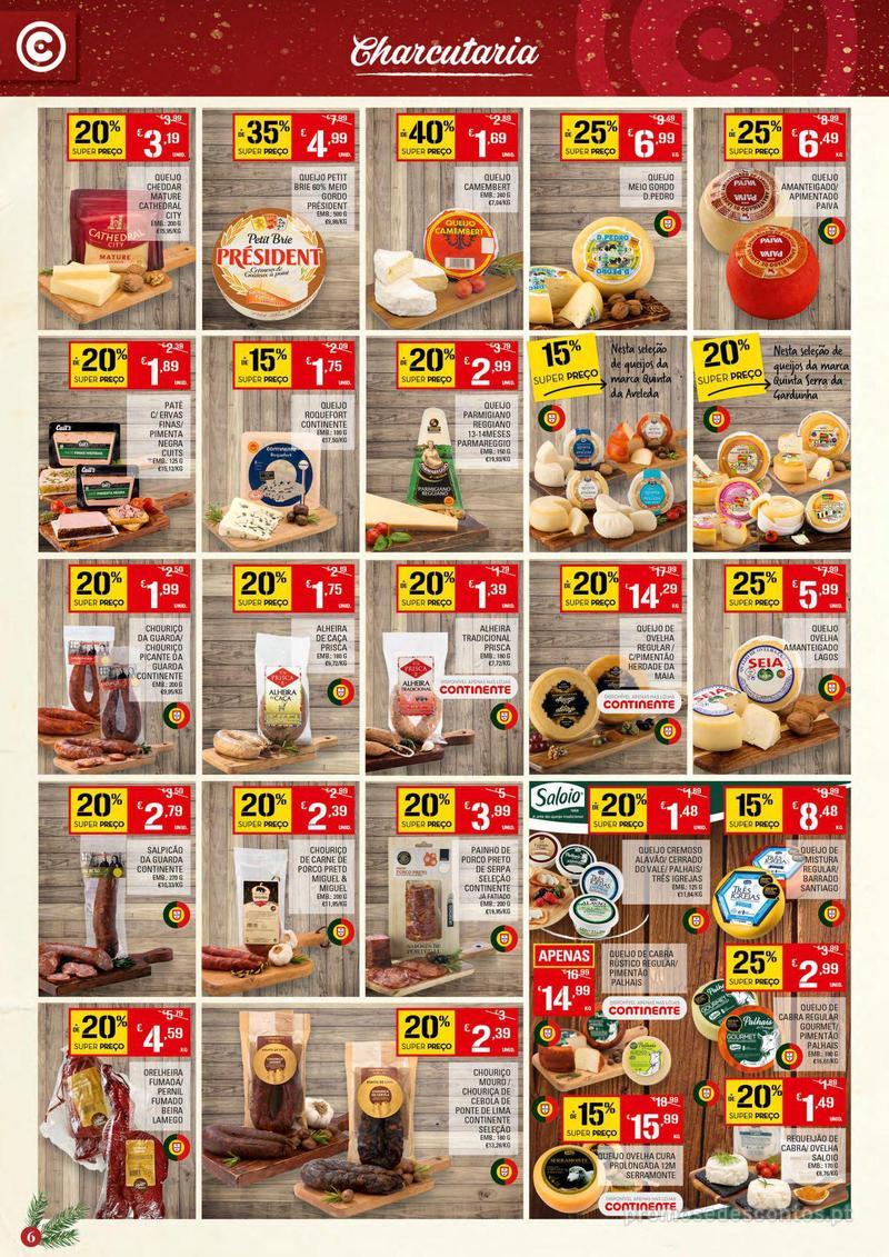 Folheto Continente Tudo aos preços mais baixos - 4 de Dezembro a 10 de Dezembro - página 6