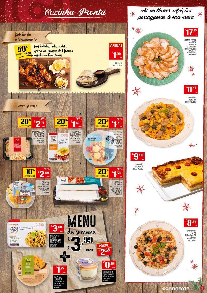 Folheto Continente Tudo aos preços mais baixos - 4 de Dezembro a 10 de Dezembro - página 9