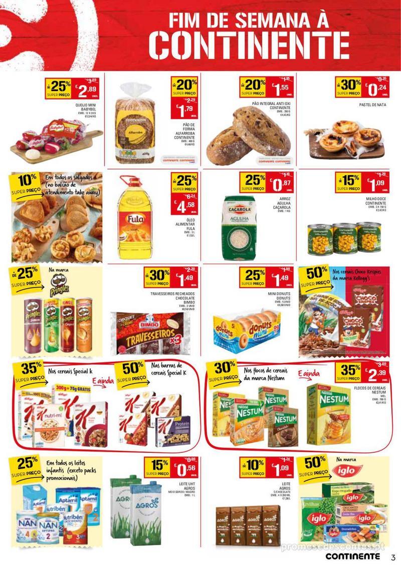 Folheto Continente Fim de semana à Continente - 11 de Janeiro a 14 de Janeiro - página 3
