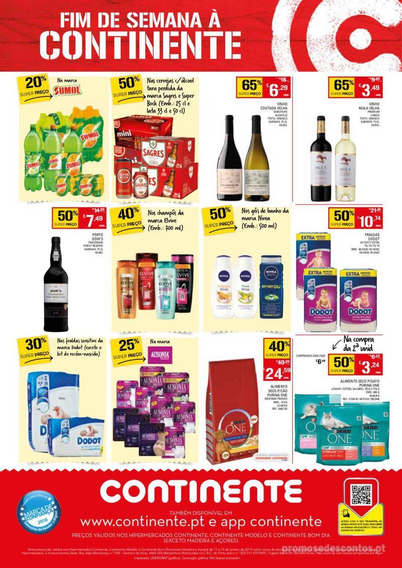 Folheto Continente Fim de semana à Continente - 11 de Janeiro a 14 de Janeiro - página 4