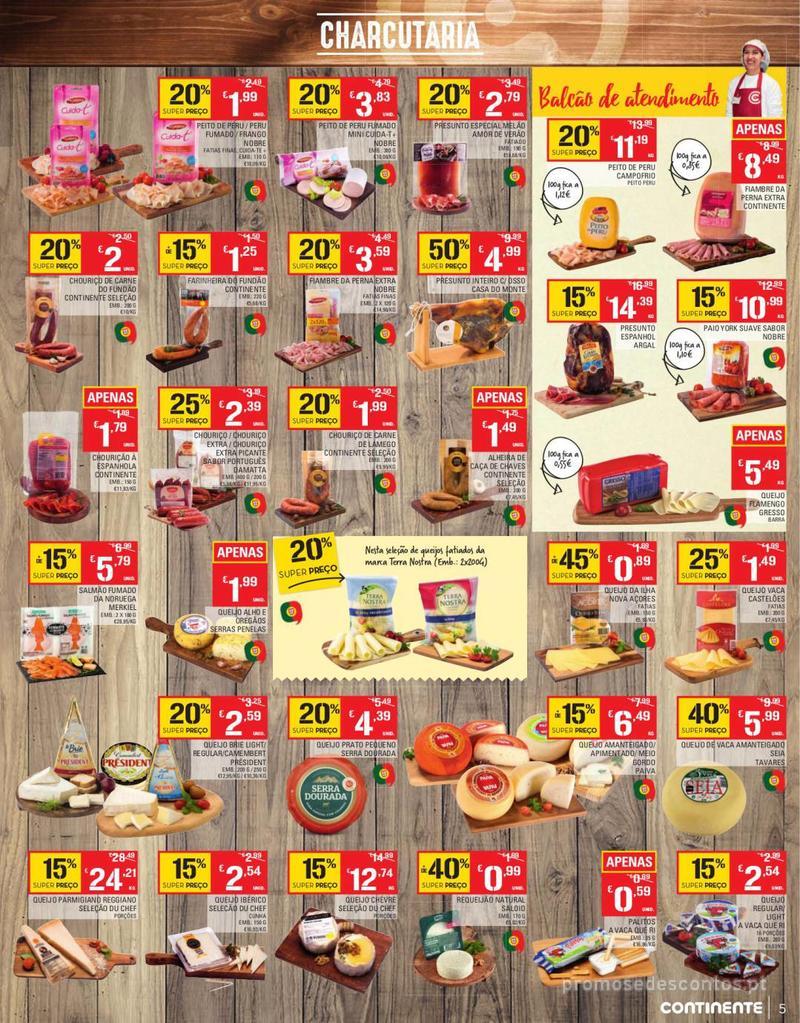 Folheto Continente Tudo aos preços mais baixos - Continente Bom dia - 13 de Agosto a 19 de Agosto - página 5