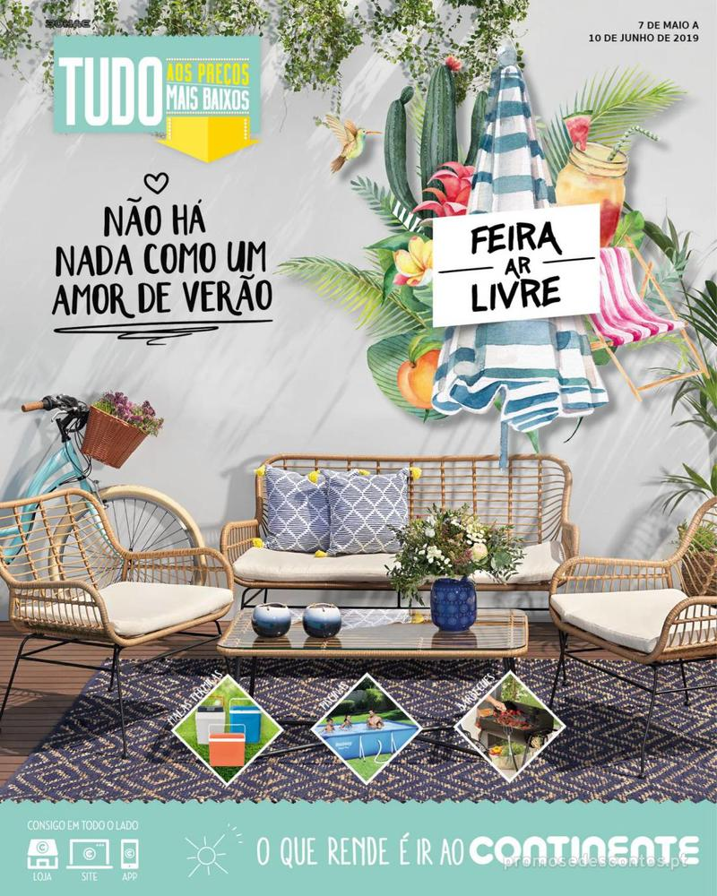 Folheto Continente Não há nada como um amor de verão - Madeira - 7 de Maio a 10 de Junho - página 1