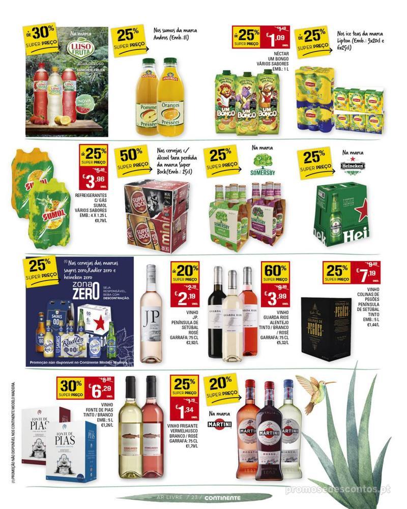 Folheto Continente Não há nada como um amor de verão - Madeira - 7 de Maio a 10 de Junho - página 23