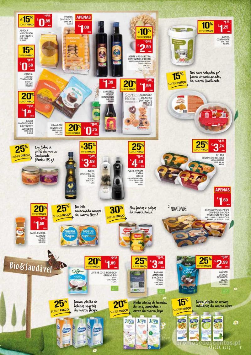 Folheto Continente Feira da Páscoa - 26 de Março a 22 de Abril - página 11