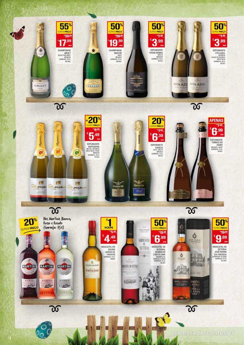Folheto Continente Feira da Páscoa - 26 de Março a 22 de Abril - página 14