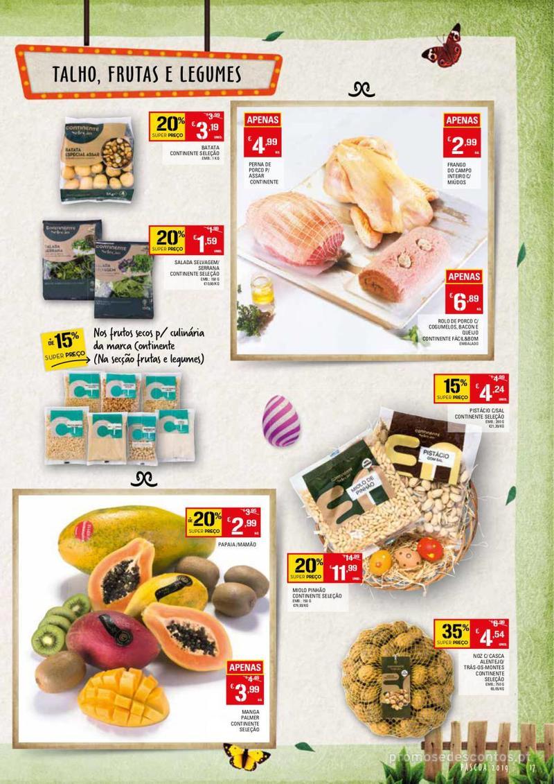 Folheto Continente Feira da Páscoa - 26 de Março a 22 de Abril - página 17
