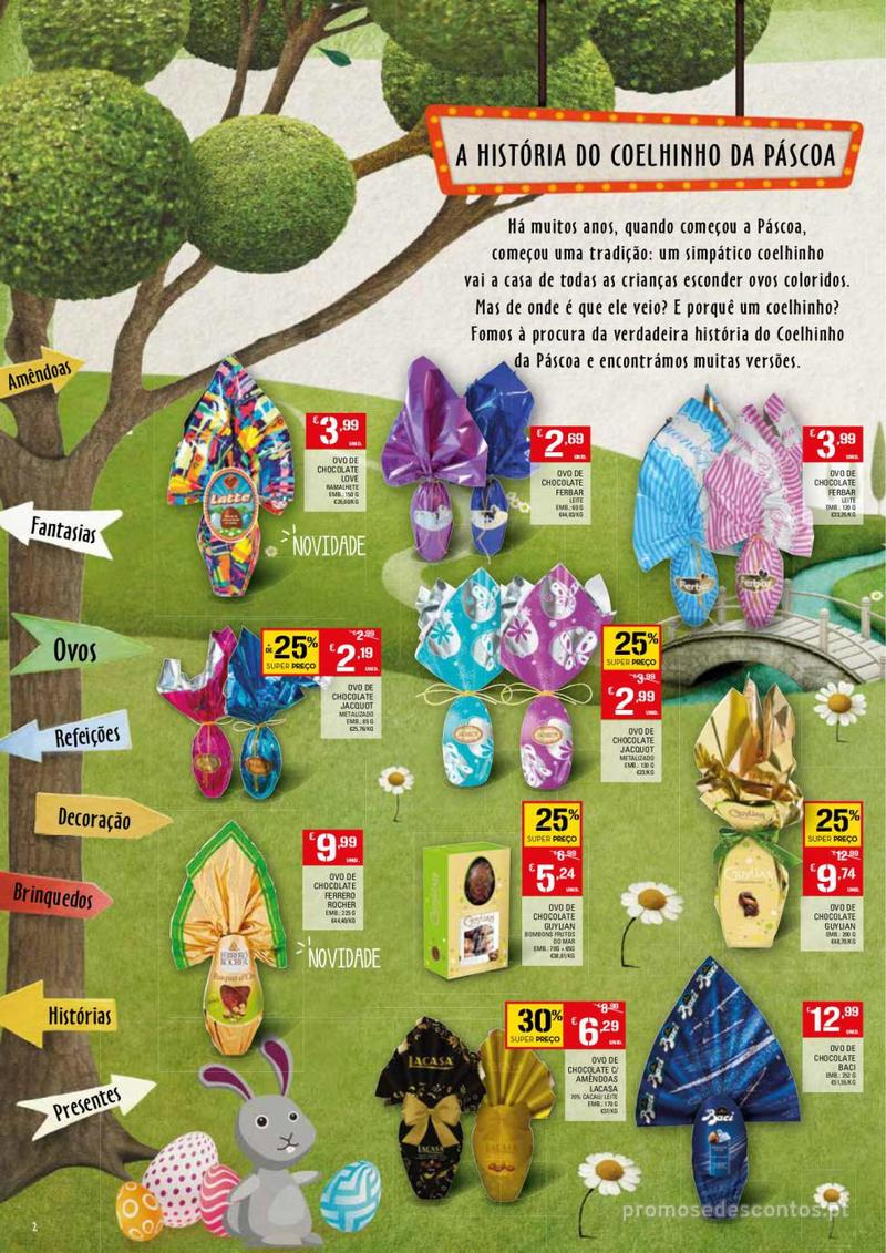 Folheto Continente Feira da Páscoa - 26 de Março a 22 de Abril - página 2