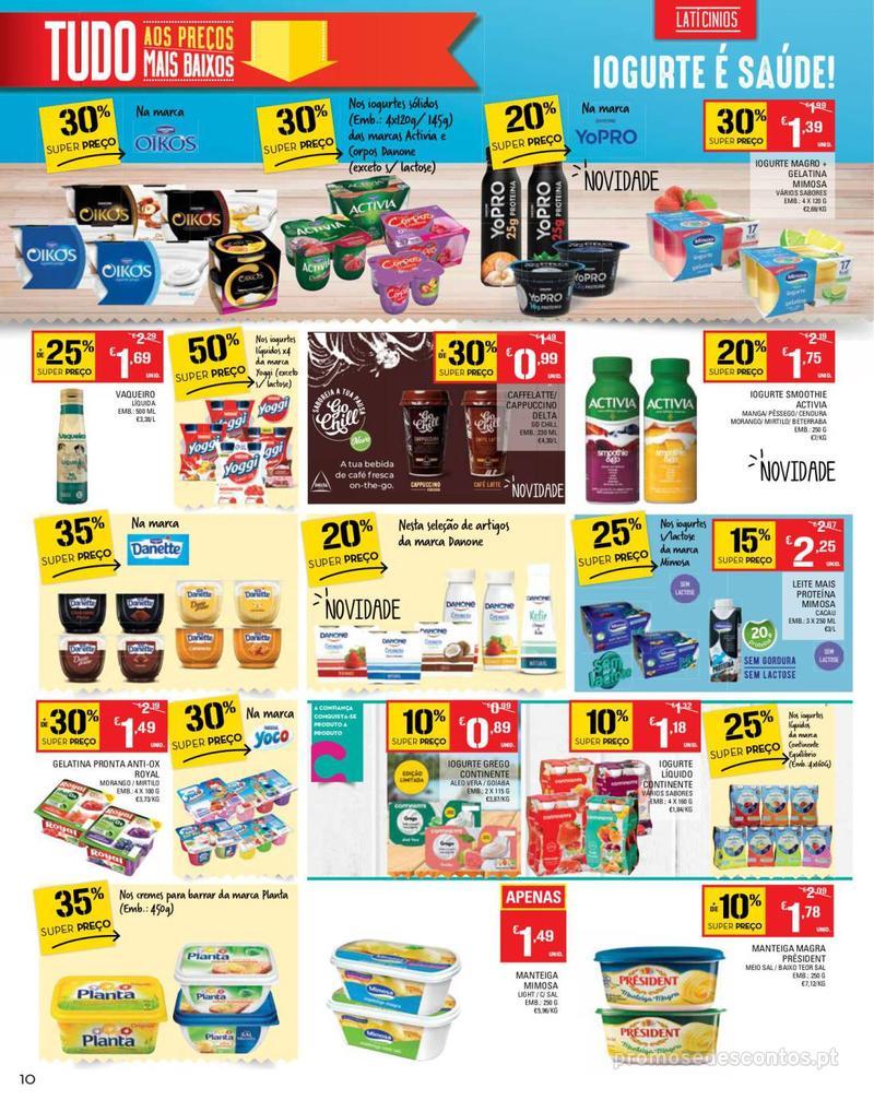 Folheto Continente Tudo aos preços mais baixos - Madeira - 14 de Maio a 20 de Maio - página 10