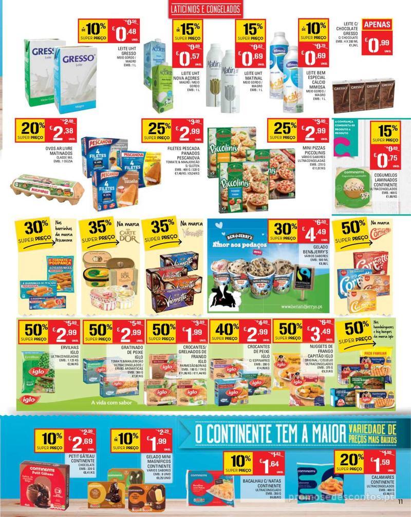 Folheto Continente Tudo aos preços mais baixos - Madeira - 14 de Maio a 20 de Maio - página 11
