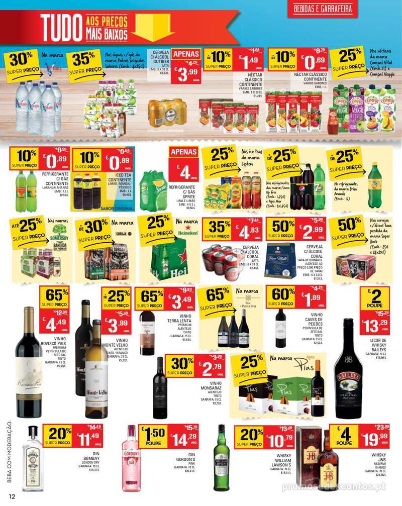 Folheto Continente Tudo aos preços mais baixos - Madeira - 14 de Maio a 20 de Maio - página 12