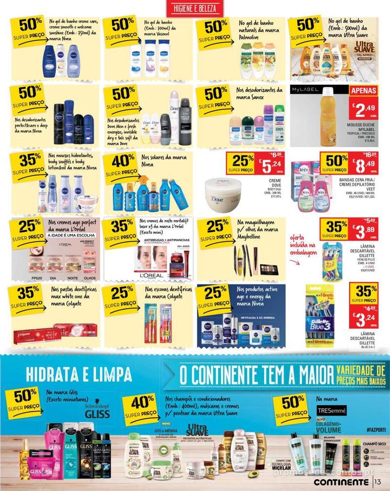 Folheto Continente Tudo aos preços mais baixos - Madeira - 14 de Maio a 20 de Maio - página 13