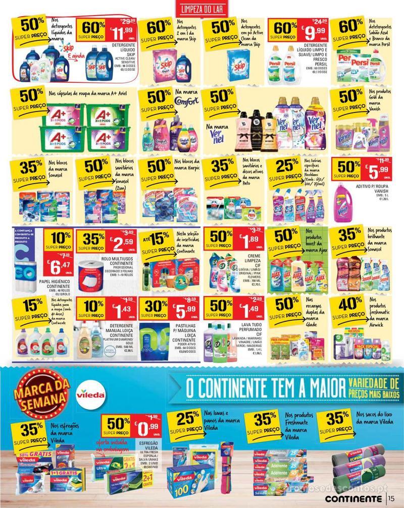 Folheto Continente Tudo aos preços mais baixos - Madeira - 14 de Maio a 20 de Maio - página 15