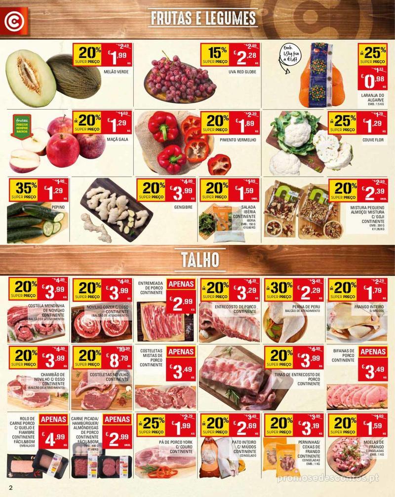 Folheto Continente Tudo aos preços mais baixos - Madeira - 14 de Maio a 20 de Maio - página 2