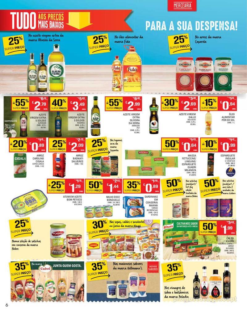 Folheto Continente Tudo aos preços mais baixos - Madeira - 14 de Maio a 20 de Maio - página 6