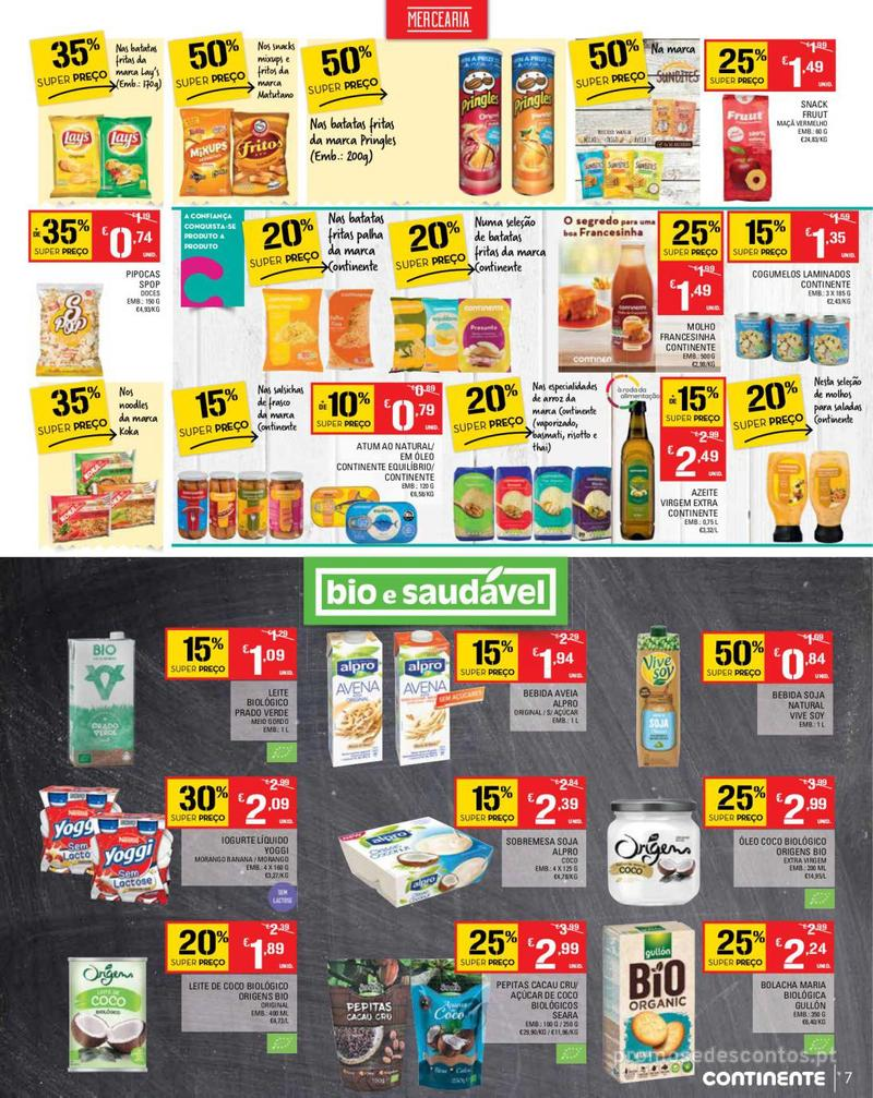 Folheto Continente Tudo aos preços mais baixos - Madeira - 14 de Maio a 20 de Maio - página 7
