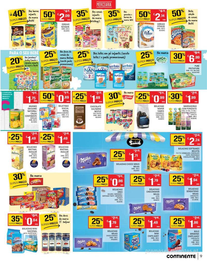Folheto Continente Tudo aos preços mais baixos - Madeira - 14 de Maio a 20 de Maio - página 9
