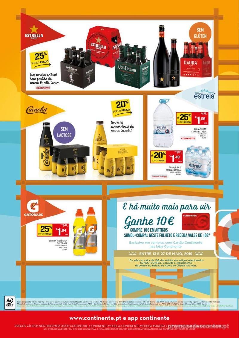 Folheto Continente Os sabores do Verão estão à vista - 14 de Maio a 27 de Maio - página 4