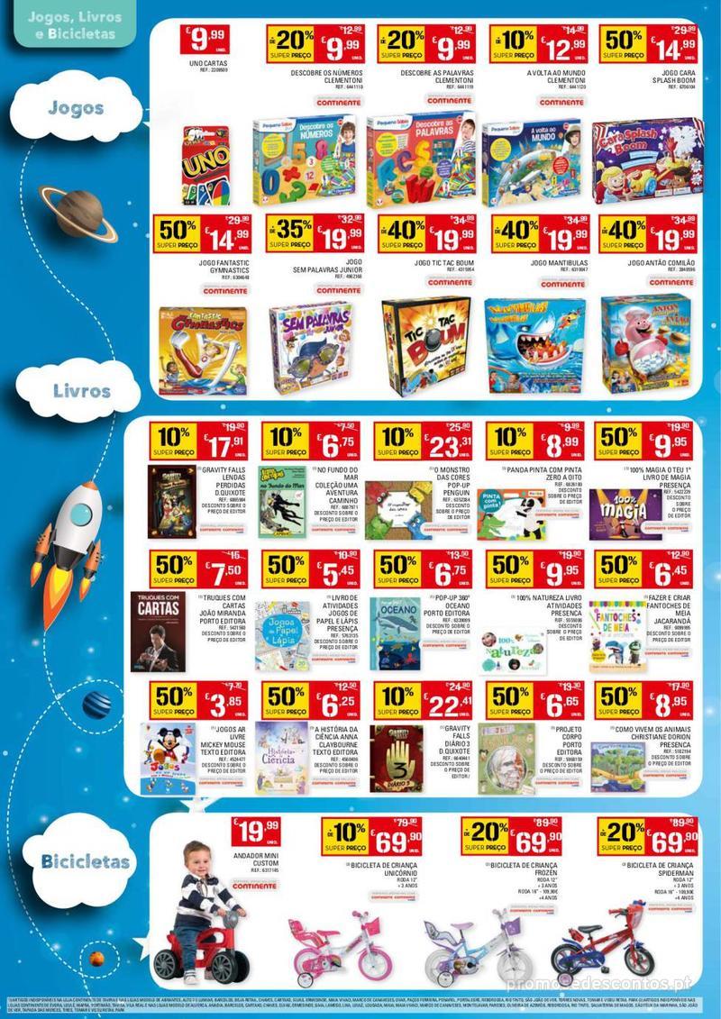 Folheto Continente Dia da Criança - 14 de Maio a 1 de Junho - página 4