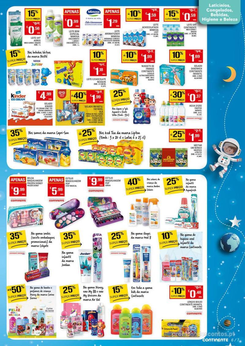 Folheto Continente Dia da Criança - 14 de Maio a 1 de Junho - página 7