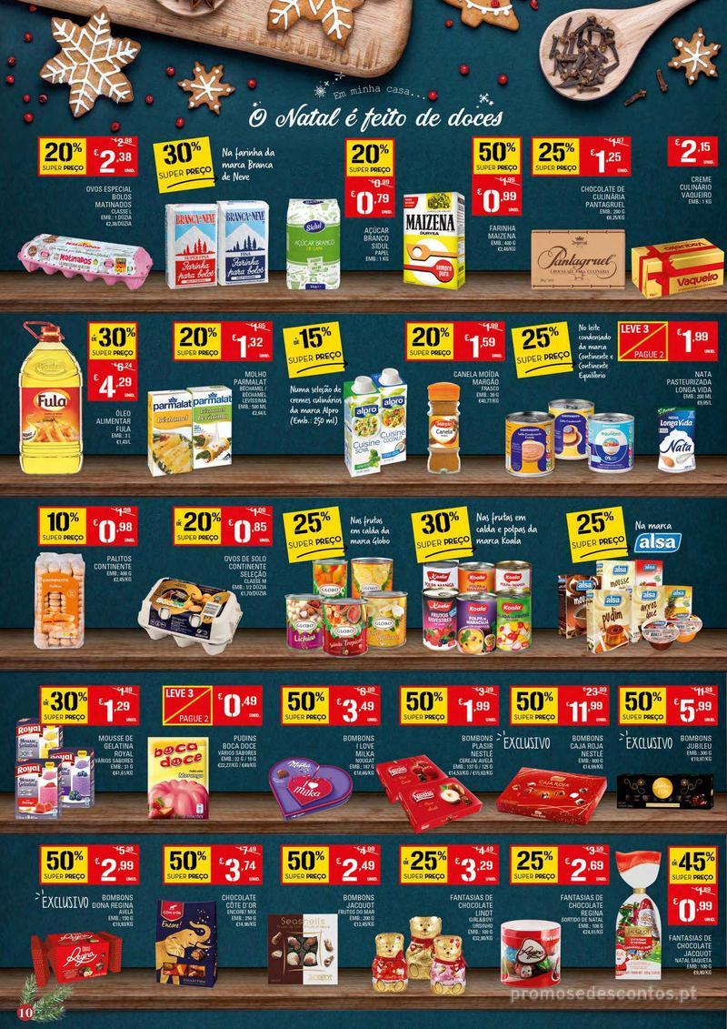 Folheto Continente Tudo aos preços mais baixos - Continente Bom dia - 4 de Dezembro a 10 de Dezembro - página 10
