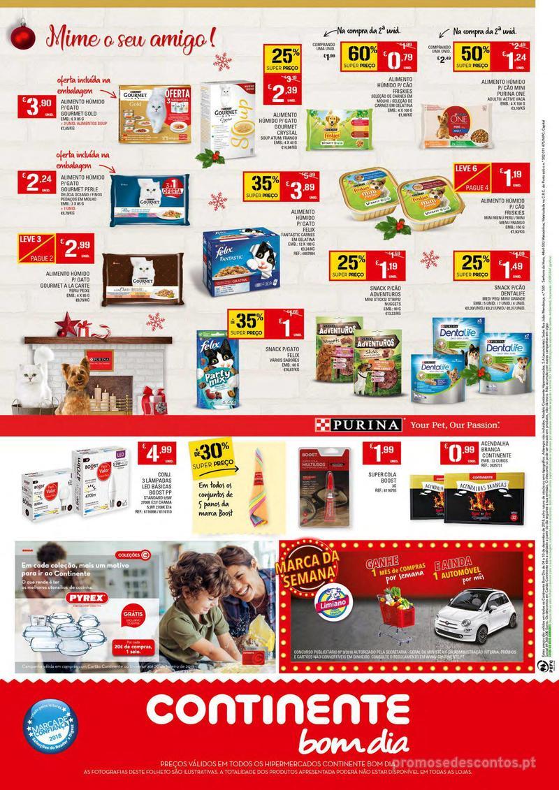 Folheto Continente Tudo aos preços mais baixos - Continente Bom dia - 4 de Dezembro a 10 de Dezembro - página 16