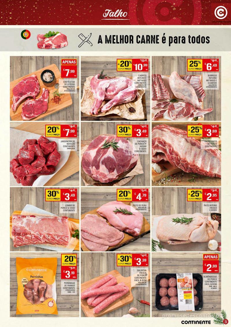 Folheto Continente Tudo aos preços mais baixos - Continente Bom dia - 4 de Dezembro a 10 de Dezembro - página 3