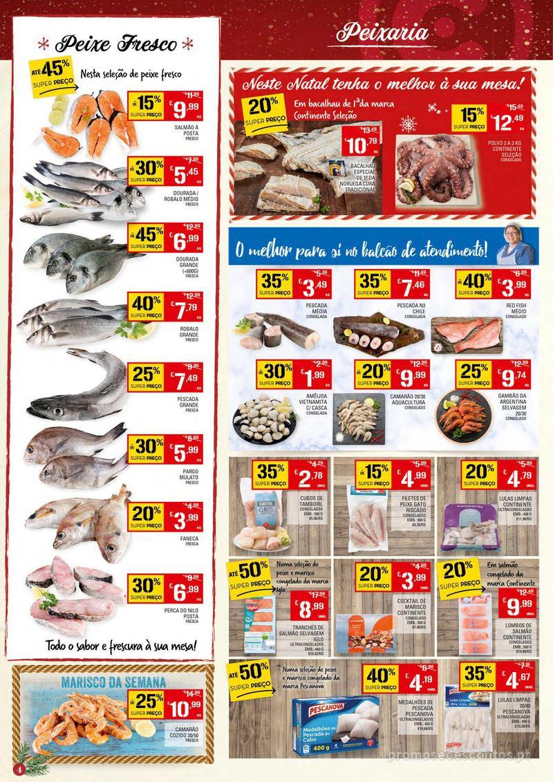 Folheto Continente Tudo aos preços mais baixos - Continente Bom dia - 4 de Dezembro a 10 de Dezembro - página 4